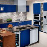 electrolux ballin blue kitchen